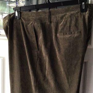 Coldwater Creek soft cord slacks